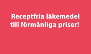 Receptria läkemedel till förmånliga priser!